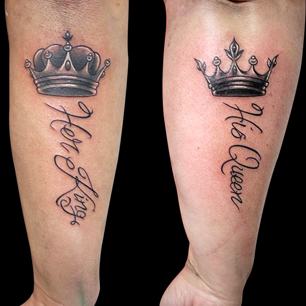 Queen and King Tattoo